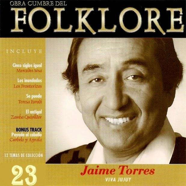 obras cumbres del folklore volumen 23 tapa