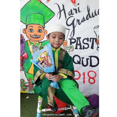 irfan, irfan hensem, graduation day, pasti 2018, graduation pre school