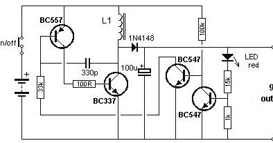 Secret Diagram: Low Cost 1 5 to 9 Volts Inverter