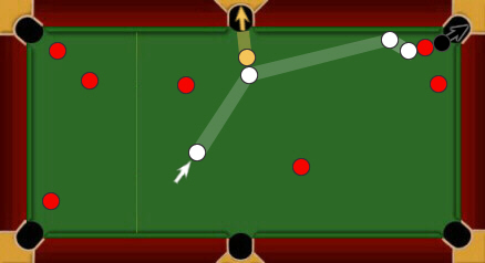 blackball pool rules skill shot