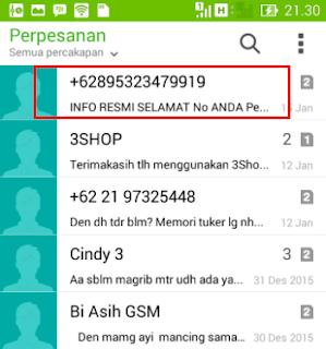 Cara Blokir SMS Di Android