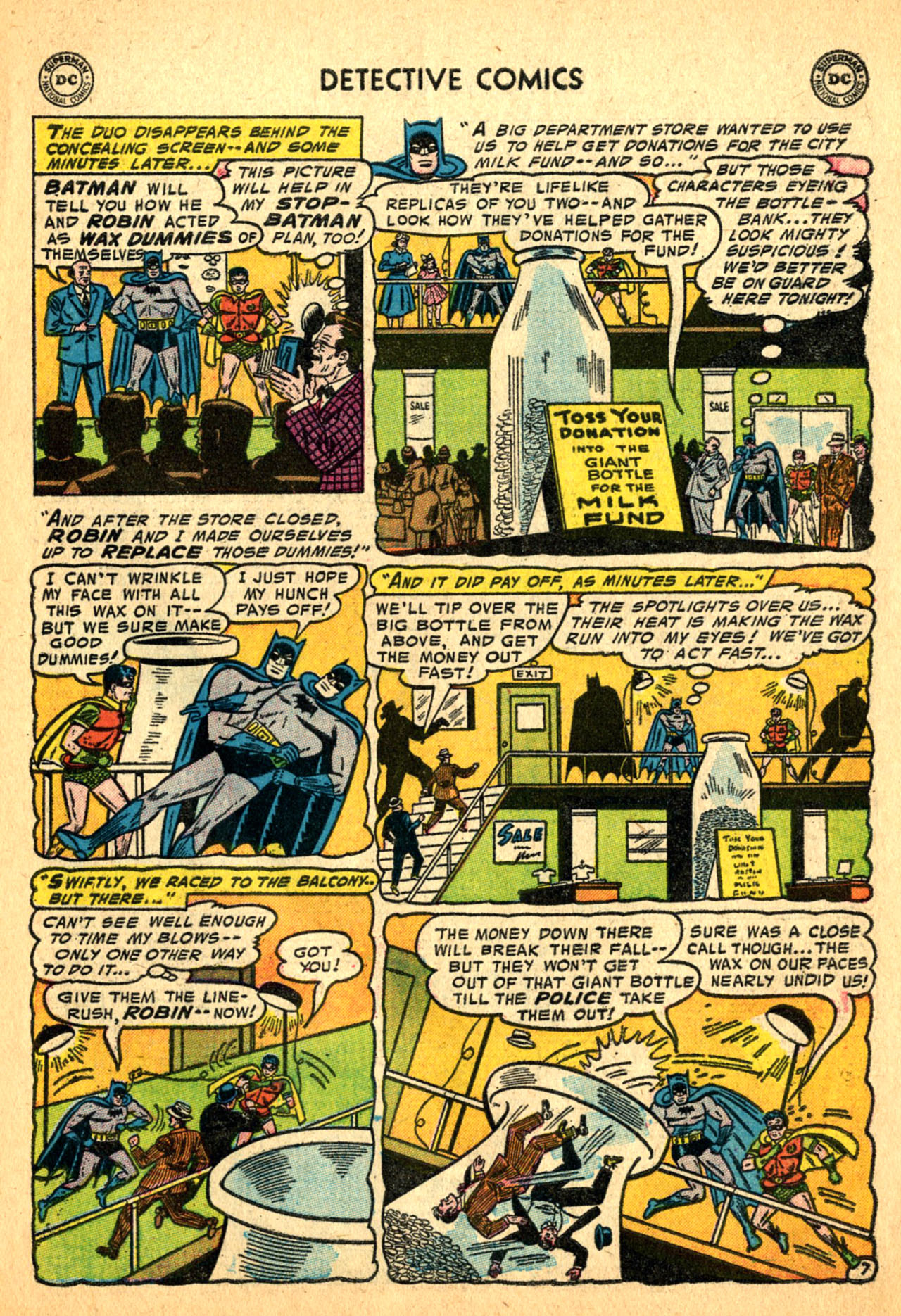 Read online Detective Comics (1937) comic -  Issue #227 - 9