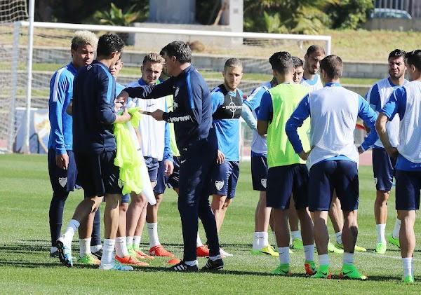 """Míchel - Málaga -: """"¿Creéis que los jugadores lo hacen aposta?"""""""