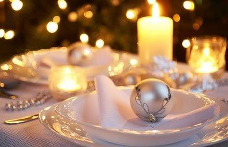 Mesa de Navidad, decoración mesa de Navidad, centro de mesa para Navidad