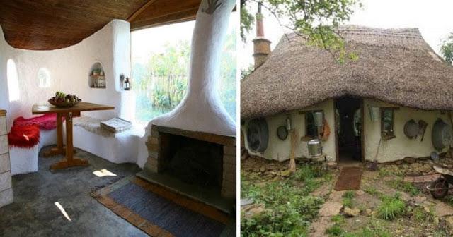 Δυο Λαρισαίοι φτιάχνουν με 1500 ευρώ σπίτια από άχυρο