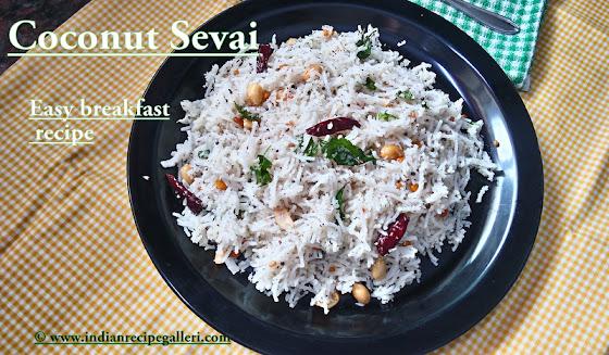 Coconut Sevai, Thengai Sevai