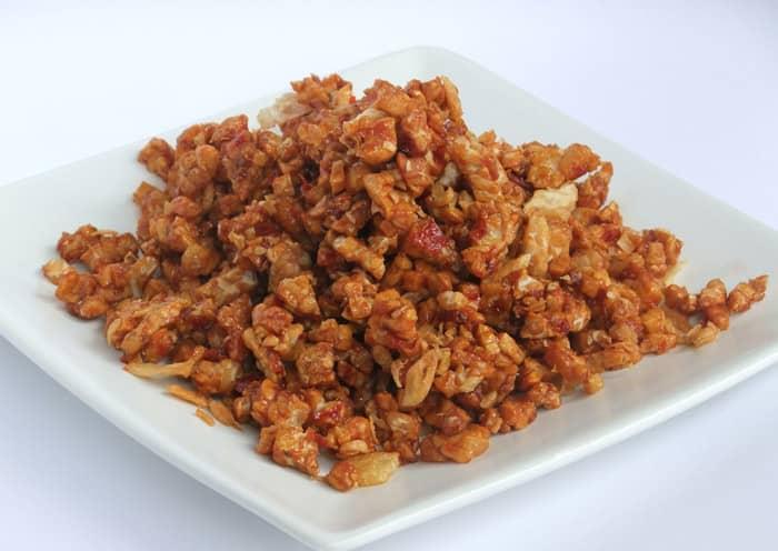 bali tempe spicy stir fry