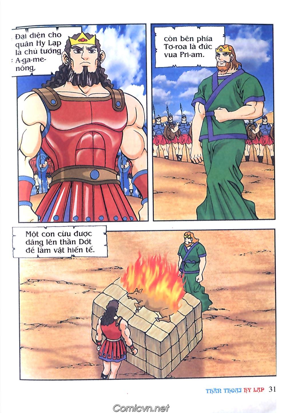 Thần Thoại Hy Lạp Màu - Chapter 57: Cuộc chiến định mệnh - Pic 28