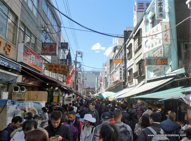 mercado pescado Tokio