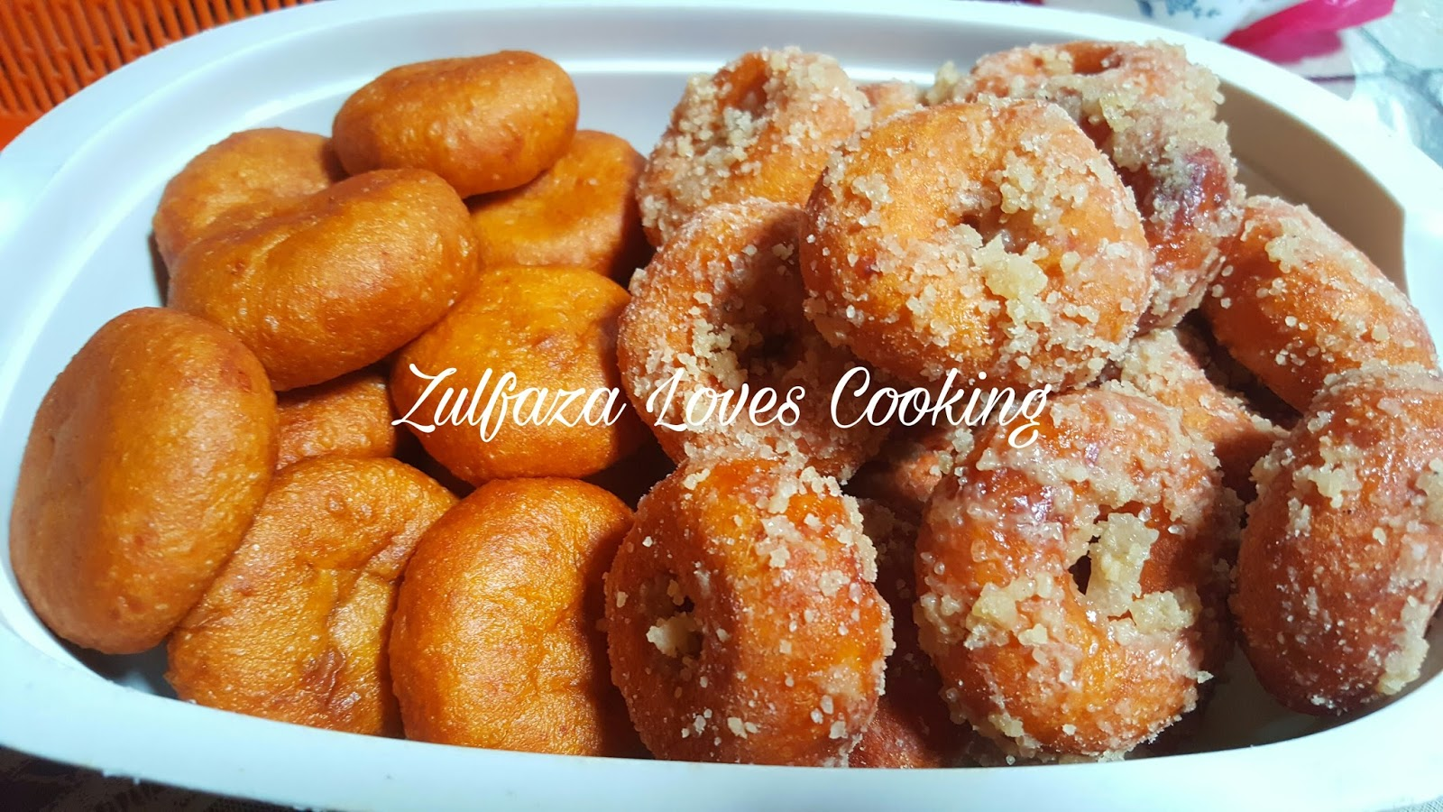 ZULFAZA LOVES COOKING: Kuih Cucur Badak