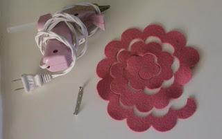 Kerajinan Tangan Cara Membuat Bros Bunga Dari Kain Flanel