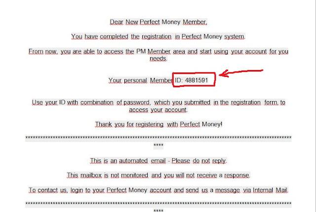 Forex perfect money