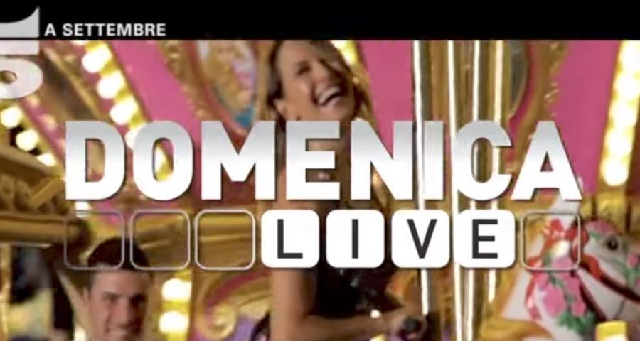 Canzone della Pubblicità di Domenica LIVE spot promo Settembre 2017