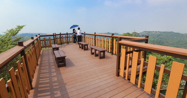 台中霧峰|阿罩霧山登山步道觀景平台|尖後福德宮|飽覽360度景觀