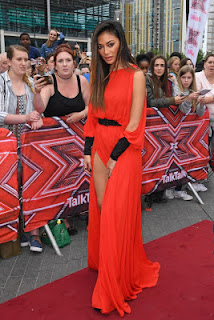 , Fashion Crazy! Nicole Scherzinger embarrasses wardrobe malfunction as she walked the X Factor red carpet, Latest Nigeria News, Daily Devotionals & Celebrity Gossips - Chidispalace