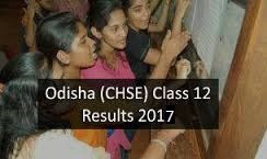 Odisha Inter 2nd Year Result 2017
