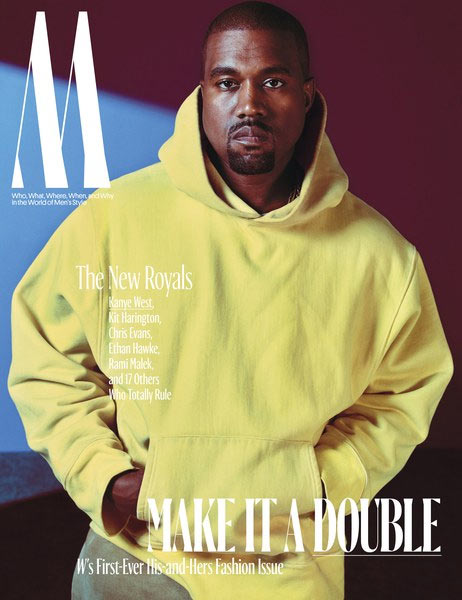 "Kanye West covers W Magazine ""Royals"" edition"