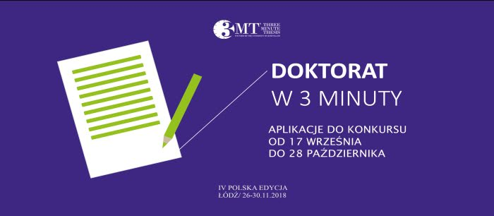 Three Minute Thesis® Łódź 2018