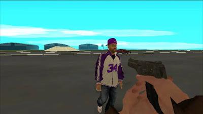Mod Primera Persona de GTA San Andreas