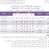 جدول الإمتحانات  المعتمد للصف السادس  الإبتدائى للجيزة نهائى أخر العام2018