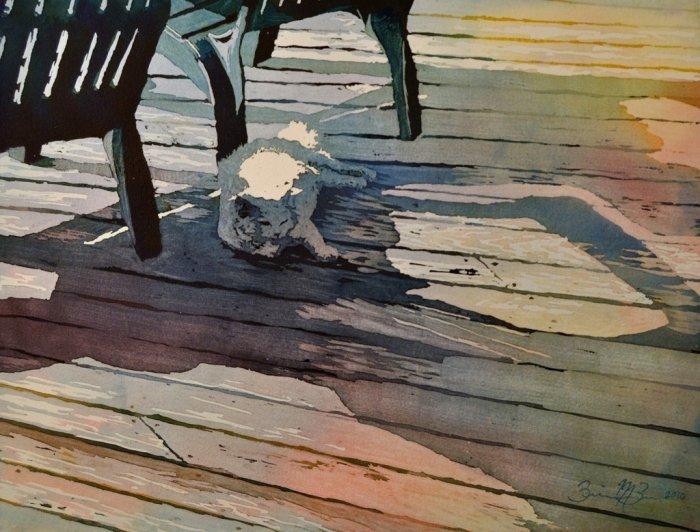 Живопись акварелью. Brienne Brown