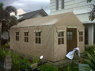 Tenda Posko ini Merupakan Tenda Serbaguna,biasa digunakan oleh perusahaan perusahaan untuk para karyawan.. Dan Biasa Digunakan Juga Untuk posko posko mudik lebaran.