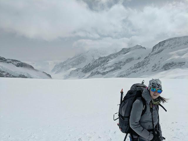 Aletsch Gletscher, Alpy berneńskie, Szwajcaria