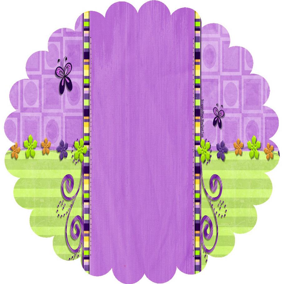 Toppers o Etiquetas con Mariposas para Imprimir Gratis.