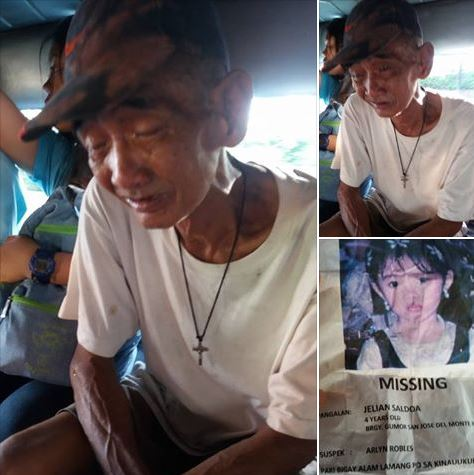 Heartbreaking: Lolo Mariano Cries And Pleads For Co-Passengers To Help Find His Missing Grandchild!