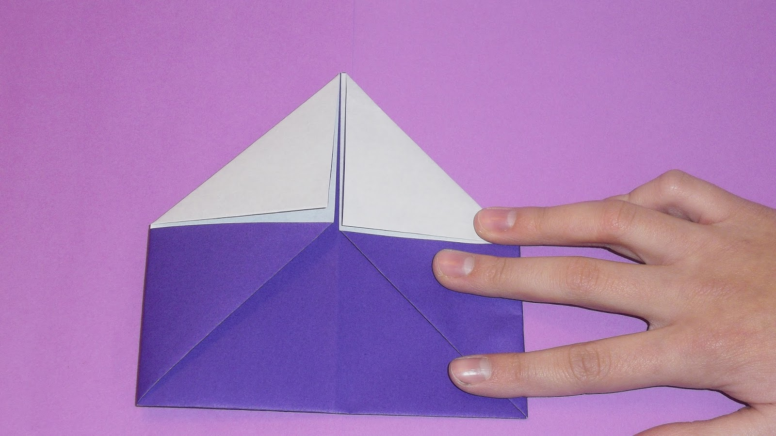 how to make origami wallet step by step