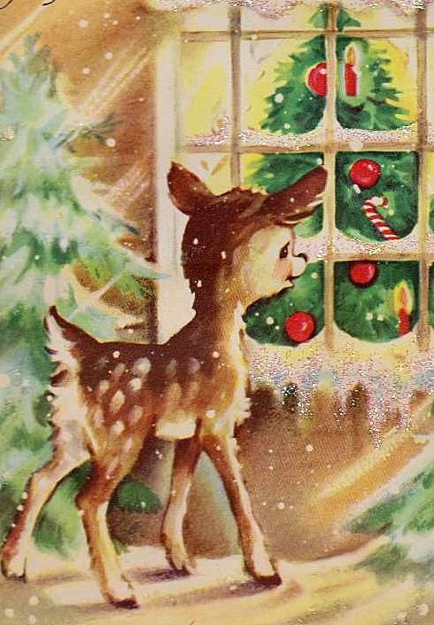 Vintage Vic We Ve All Gone Deer Crazy This Christmas