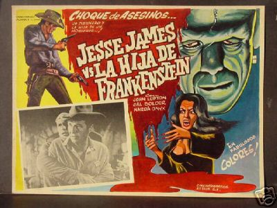 Jesse James Meets Frankenstein's Daughter (Jesse James contra Frankenstein)