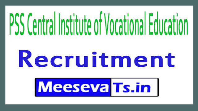 PSS Central Institute of Vocational Education PSSCIVE