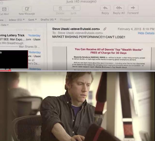 We review a short film about email opt-out by Steve Utaski