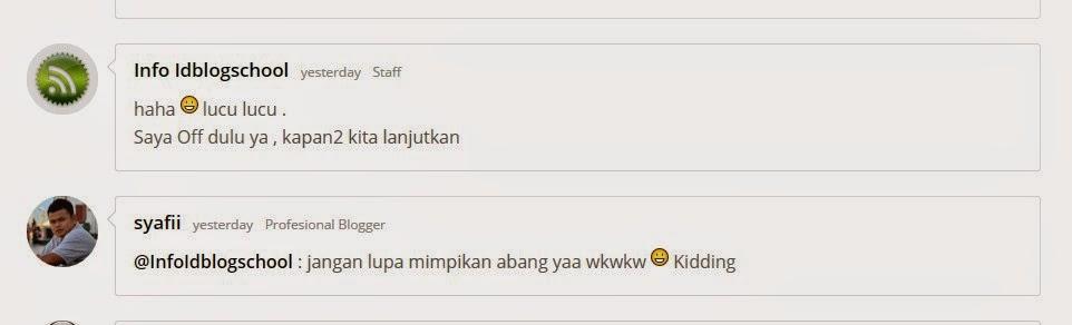 Forum Kumpulan Komunitas Blogger Indonesia