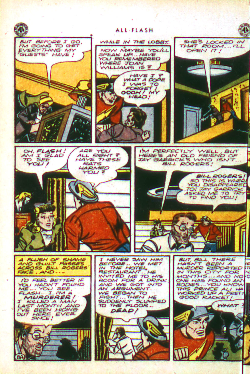 Read online All-Flash comic -  Issue #18 - 10