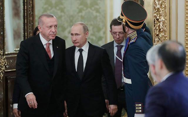 Πούτιν: Και άλλες συμφωνίες με Τουρκία για οπλικά συστήματα, μετά τους S-400