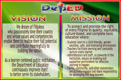 High Resolution Deped Mission Vision Core Values