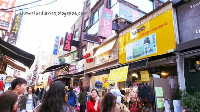 edae shopping street ewha