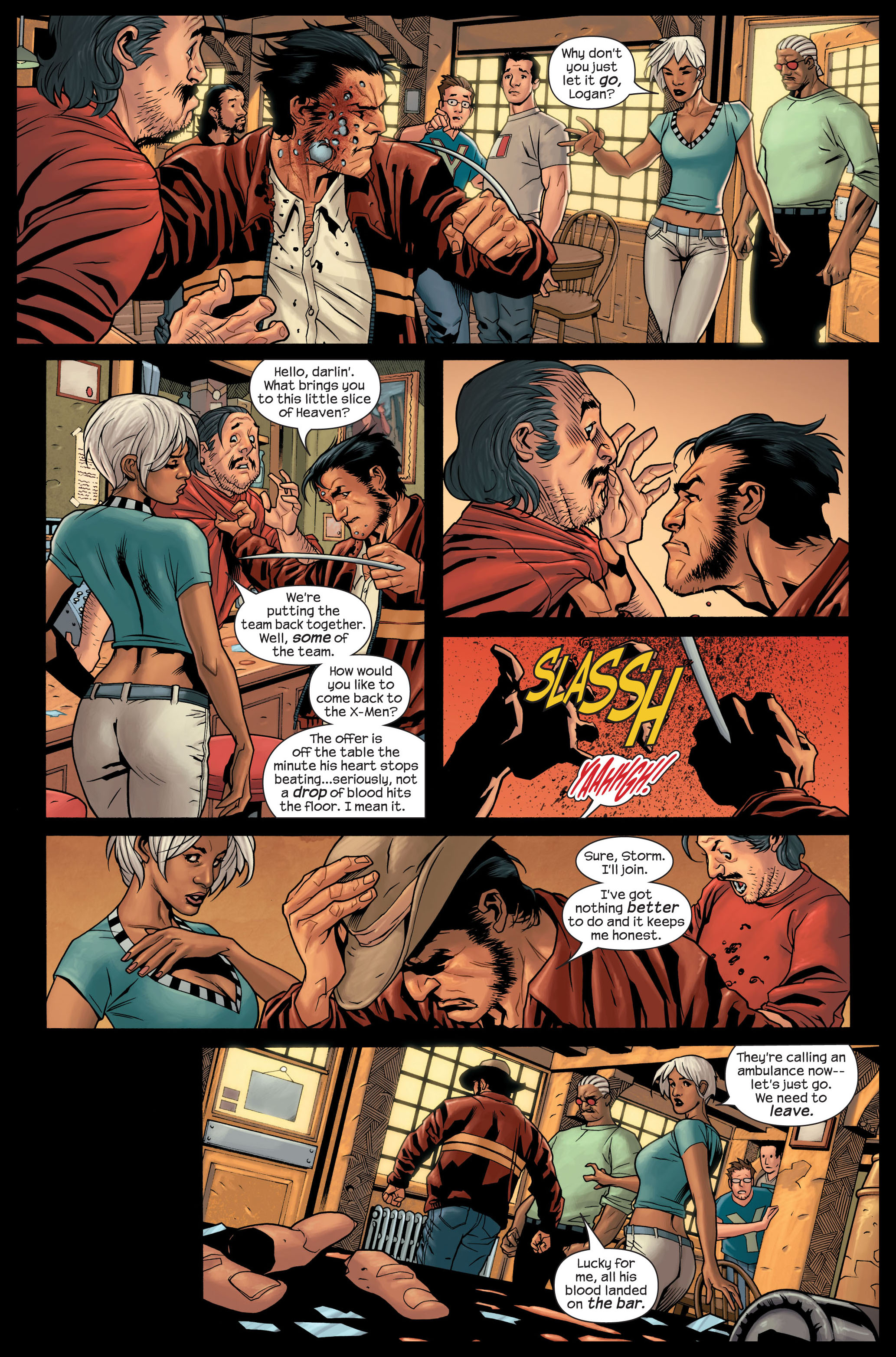 Read online Ultimate X-Men comic -  Issue #84 - 4