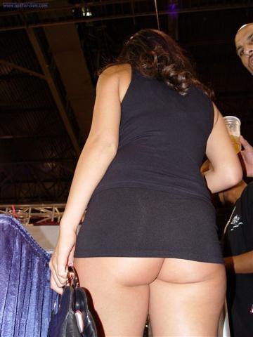 bbw mini skirt tease