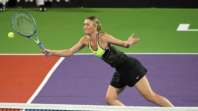Sharapova Pastikan Akan Comeback di Stuttgart