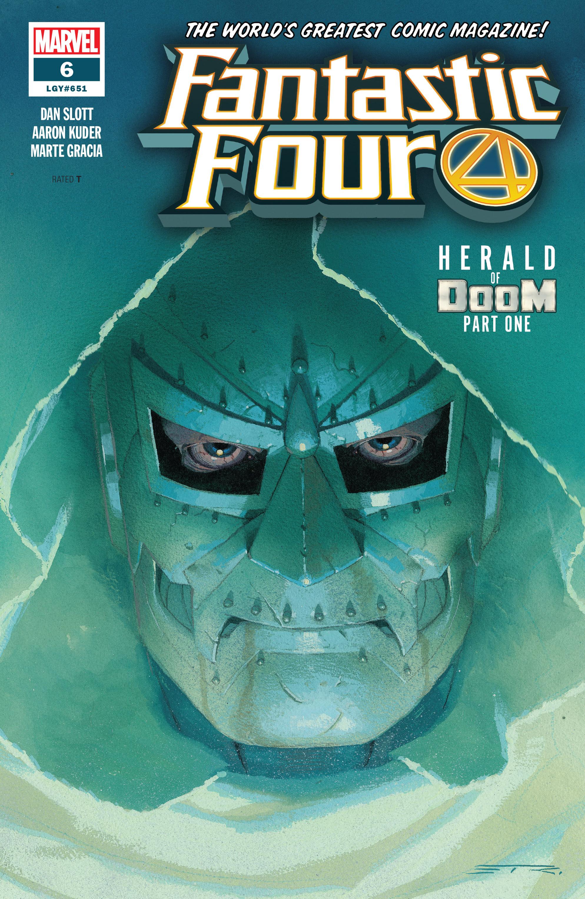 Fantastic Four (2018) 6 Page 1