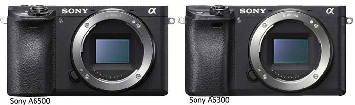 Sony A6500 и A6300