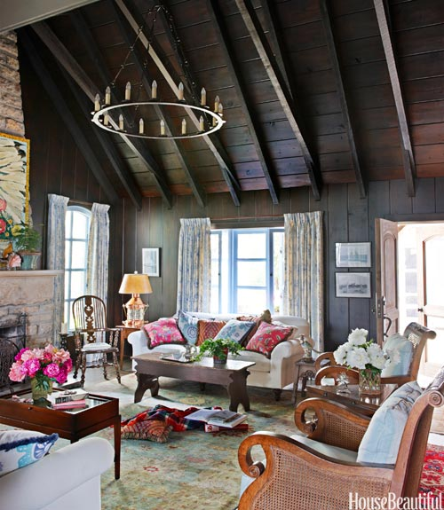 Warm Rustic Living Room Ideas: Mix And Chic: Beautiful Rustic Room Ideas