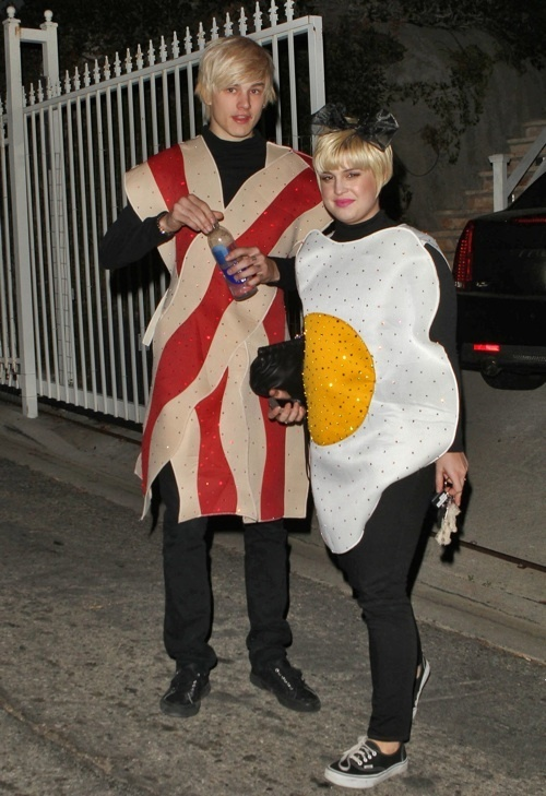 Bacon And Eggs Halloween Costume1  sc 1 st  Bacon Dippers Gallery & Bacon Dippers Gallery: Bacon And Eggs Halloween Costume