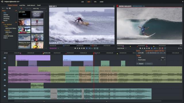 Lightwork editing video ringan dan hasil terbaik
