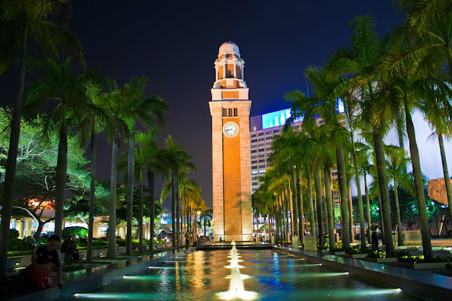 Backpacking travel adventure and hong kong travel