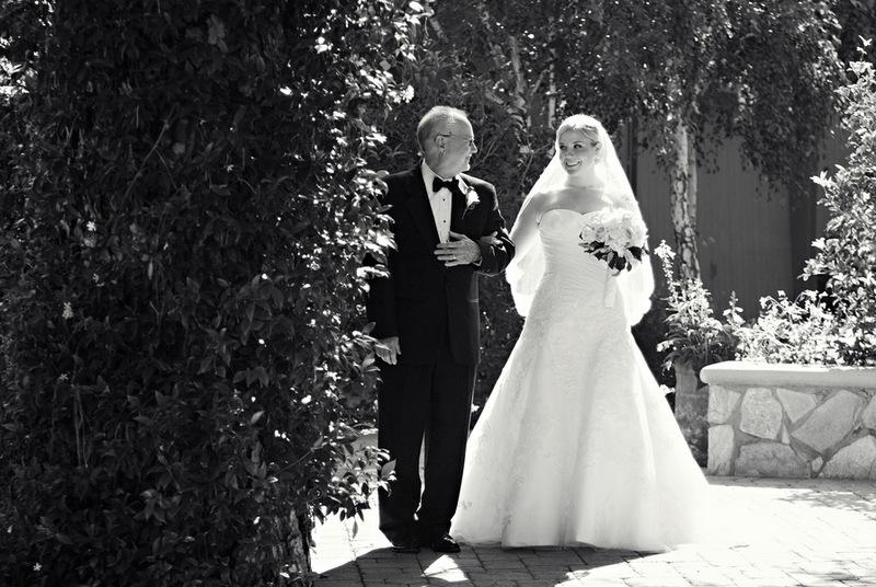 {Real Wedding} Vanessa & Scott: California Rustic Garden