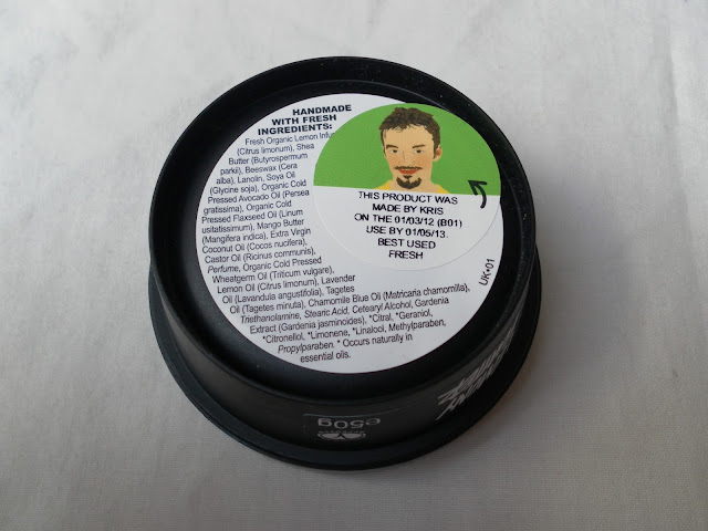 A picture of Lush Lemony Flutter Cuticle Butter